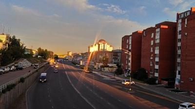 ул.Борсоева закат