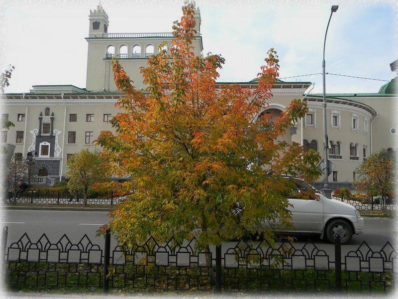 Театр Оперы и Балета. Осень