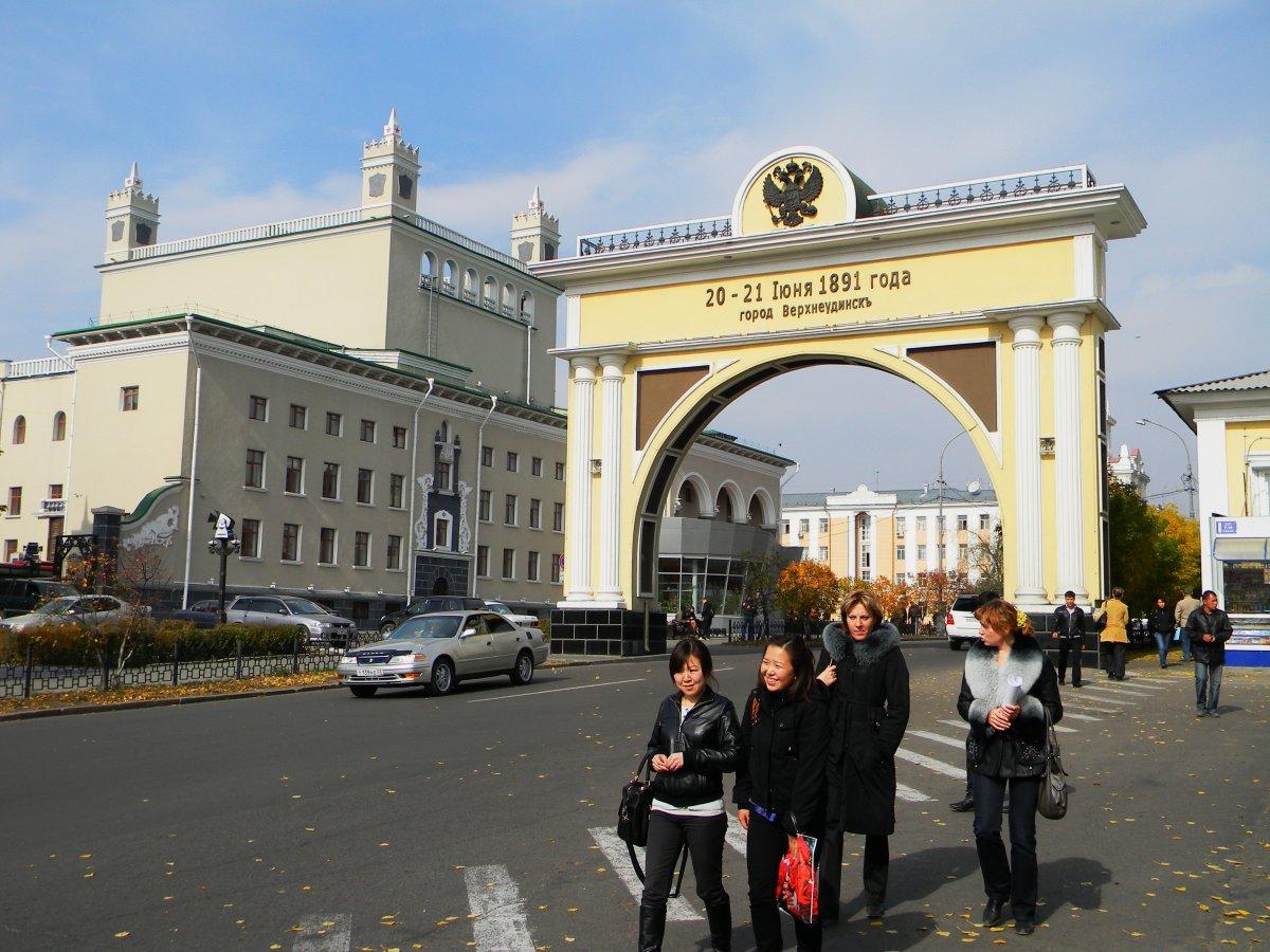 Триумфальная арка г.Улан-Удэ