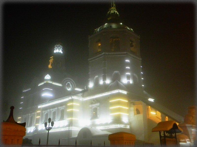 Храм в тумане