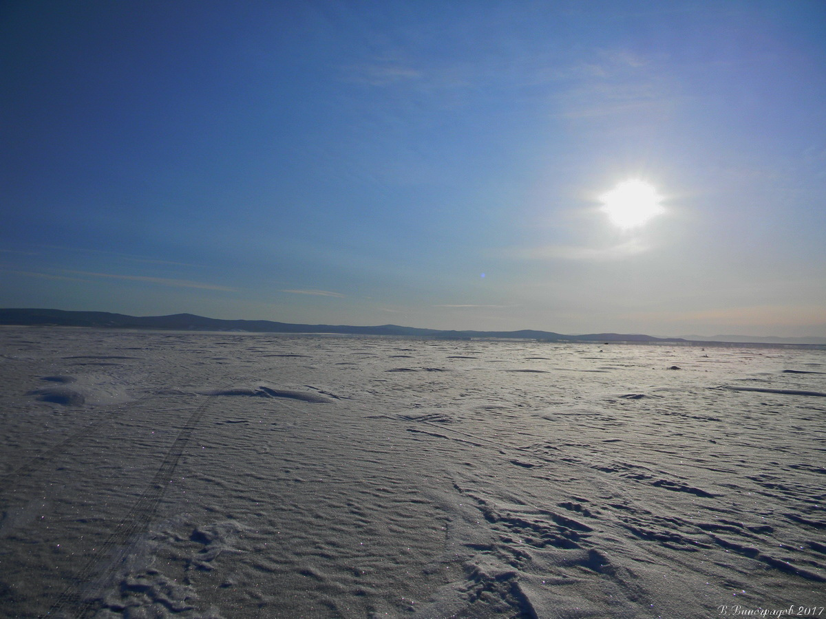 Солнце на Байкале