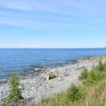 Каменистый пляж Байкала