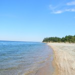 Пляж на Байкале