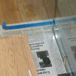 Монтажный зазор для герметика