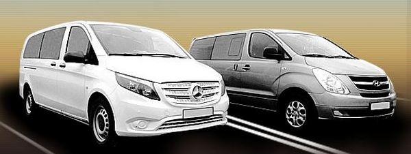 Бизнес такси минивэн