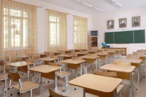 Школьная мебель в классе