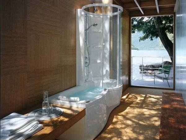 душ или ванна