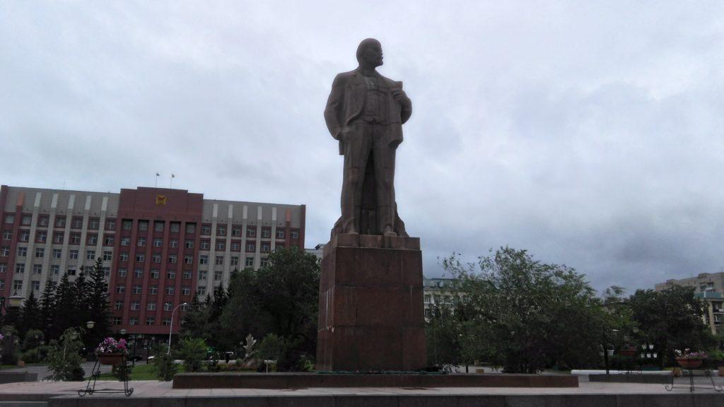 Чита. Памятник В.И. Ленину