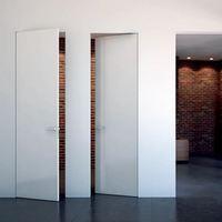 Скрытые двери – отличный вариант для интерьера