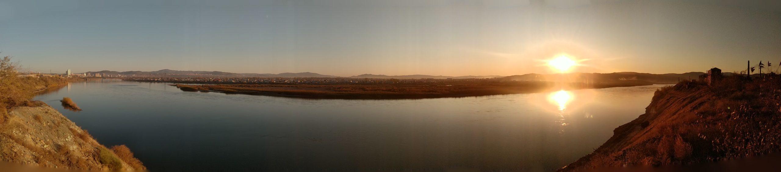 Панорамные фото. Селенга