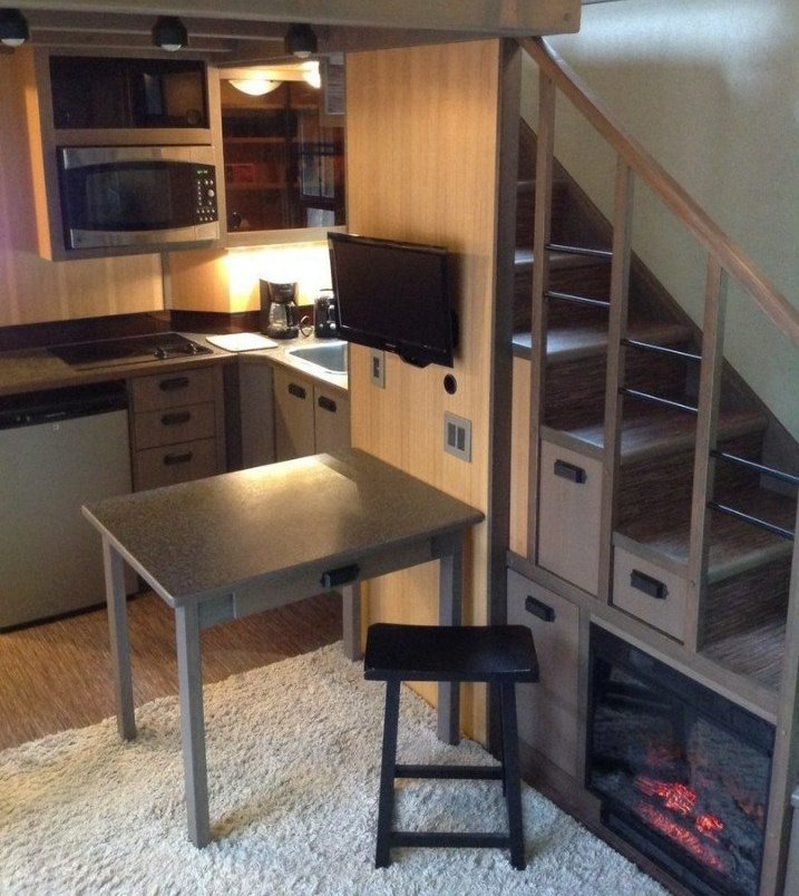 построить дом. кухня